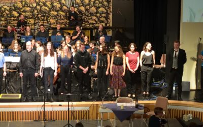 A Concert to finish three choral workshops